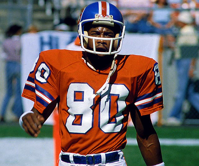 Upchurch played for the Denver Broncos from 1975 to 1983 and had eight combined kickoff and punt return touchdowns in his career.