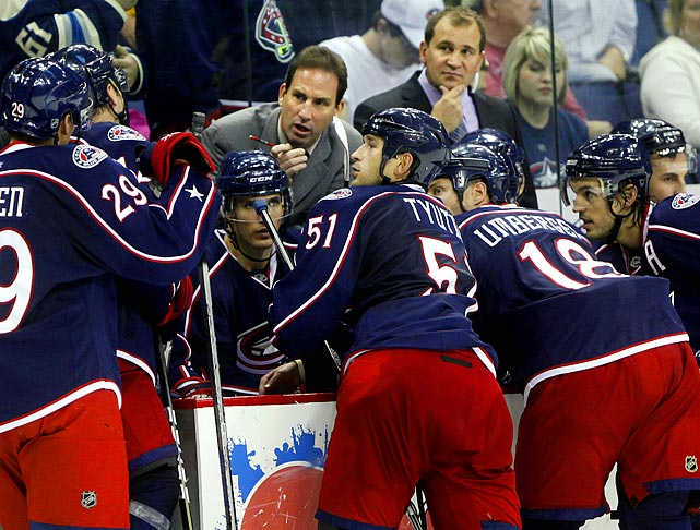 Scott Arniel, in his second season as bench boss of the Blue Jackets, was fired on Jan. 9, 2012 when he couldn't pull his team out of its extended funk. The hope engendered by the acquisitions of Jeff Carter and James Wisniewski quickly dissolved as Columbus got off to the worst start in the franchise's history (1-9-1) and owned the poorest record in the league (11-25-5) by the time Arniel was booted in favor of assistant coach Todd Richards, who had been dismissed by the Minnesota Wild in April 2011. Richards was told he would finish the season on an interim basis.