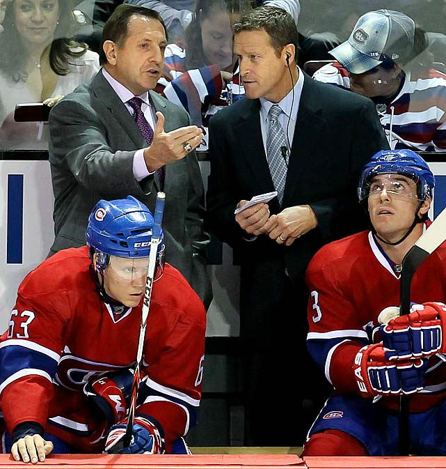 Montreal's worst start in 70 years -- seven losses in their first eight games -- put coach Jacques Martin's job in jeopardy. GM Pierre Gauthier served up a warning in October by firing Martin's longtime assistant coach Perry Pearn, but the Canadiens still hit the bottom of the Northeast Division. Their sloppy play, inability to hold leads, and beat cupcake teams bode ill for the defense-minded Martin, who was finally given the axe on Dec. 17, two seasons after guiding the Habs to the 2009-10 Eastern Conference Finals. He was replaced by assistant coach Randy Cunneyworth, the former bench boss of Montreal's AHL Hamilton affiliate. Martin departed with an overall mark of 96-75-25 with the Habs. His 613 career victories rank in the NHL's top 10 all-time.