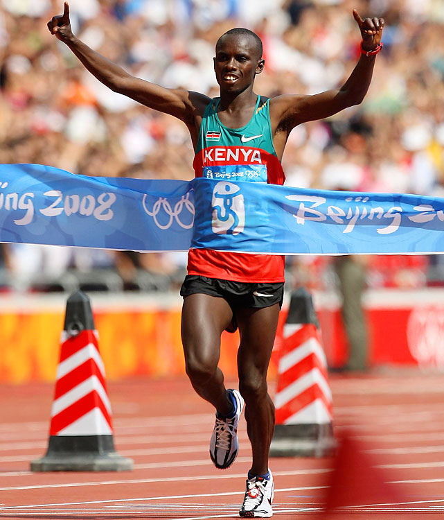 What could have been the greatest marathon career was cut short by a disputed sequence of events. Wanjiru, the 2008 Olympic marathon champion, fell off a balcony at his Kenyan home. It is unclear whether his death was a suicide or a homicide, or if it was by accident. Revelations about his life -- a drinking problem, a mistress -- have come out since. Wanjiru, who died at age 24, had racked up marathon wins in London and Chicago in addition to breaking the Olympic record in Beijing.