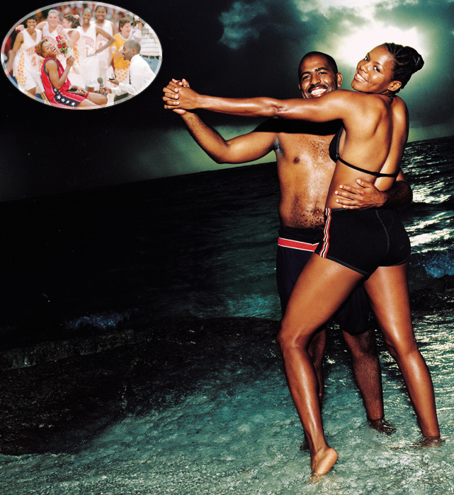 U.S. basketball player Nikki McCray was not expecting a proposal after playing a game, but her boyfriend Thomas Penson had other ideas as he popped the question in front of 6,500 fans (and several former teammates). The couple later posed in the 1999 SI swimsuit issue.