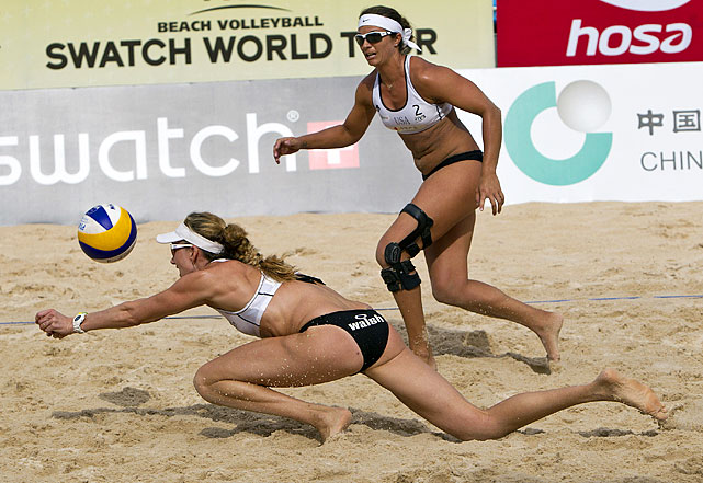 May-Treanor and Walsh did not play together in 2009 and '10, but the American duo has reunited in hopes of winning a third consecutive Olympic gold medal in beach volleyball. Their toughest competition is expected to come from Brazilians Larissa Franca and Juliana Felisberta Da Silva, who defeated May-Treanor and Walsh in the final of the world championships in June.