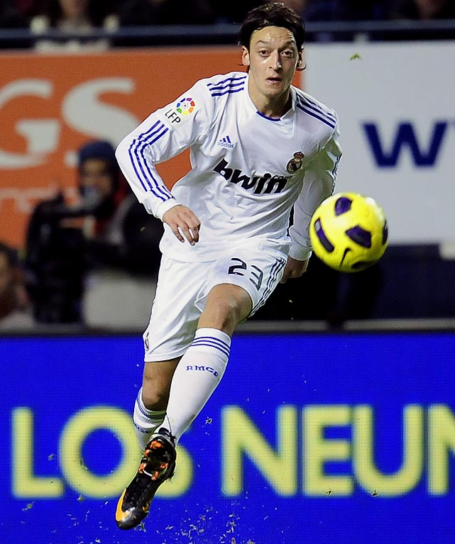 The German broke out at the 2010 World Cup, where he was one of the tournament's best playmakers as a 21-year-old. Now established at Real Madrid, Ozil will be one of the key players at Euro 2012 in June. A young, talented German squad is expected to challenge Spain for the coveted title.