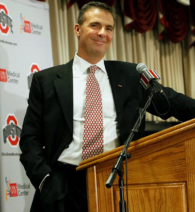 A year after stepping down at Florida, Meyer accepted a six-year, $24 million deal from scandal-plagued Ohio State. The Buckeyes may not be bowl-eligible in 2012, but Meyer is once again taking over a once-dominant program with virtually unlimited resources and top-notch facilities in a recruiting hotbed. At the moment, he appears ready to dominate again.