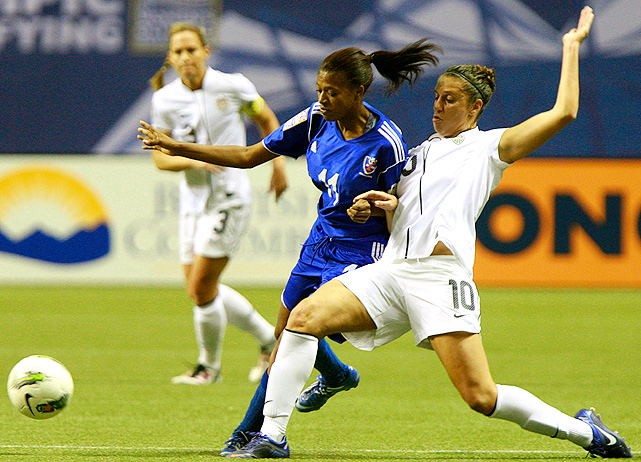 Carli Lloyd scored the U.S.'s second goal and assisted Abby Wambach's second goal.