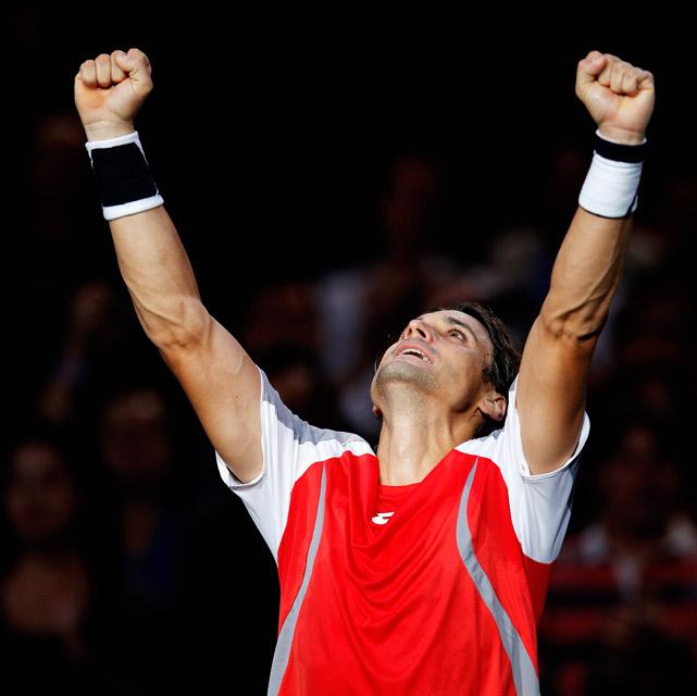 def. Jerzy Janowicz 6-4, 6-3 Masters 1000, Hard, €2,427,975 Paris