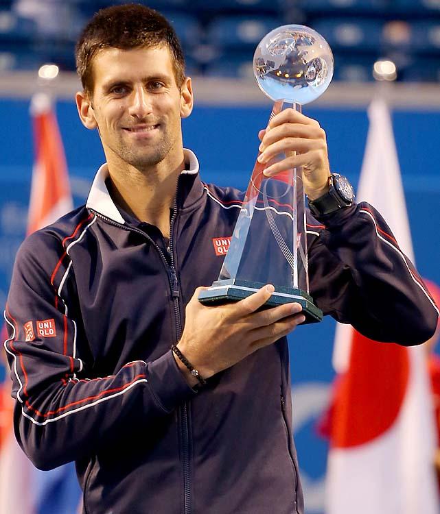 def. Richard Gasquet 6-3, 6-2 Masters 1000, Hard, $3,218,700 Toronto