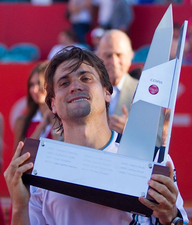 def. Nicolas Almagro 4-6, 6-3, 6-2 ATP World Tour 250, Clay, $484,100 Buenos Aires, Argentina