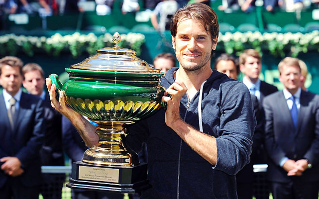 def. Roger Federer 7-6 (5), 6-4  ATP World Tour 250, Grass, €663,750 Halle, Germany