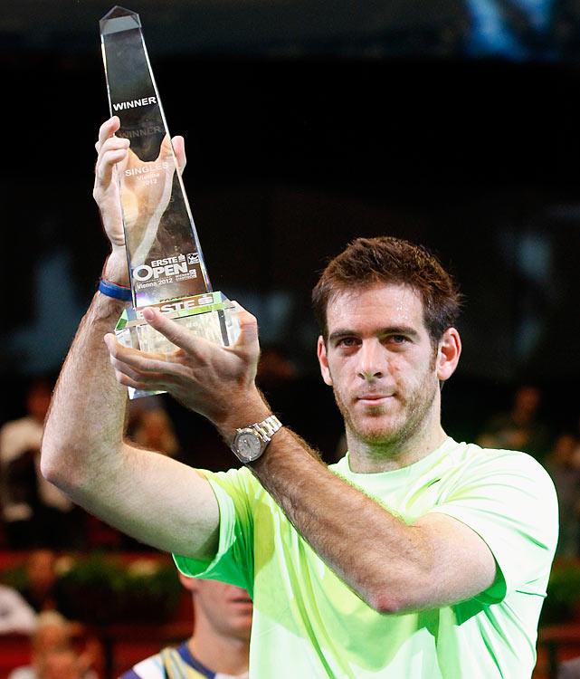 def. Grega Zemlja 7-5, 6-3 ATP 250, Indoor Hard, €486,750 Vienna, Austria