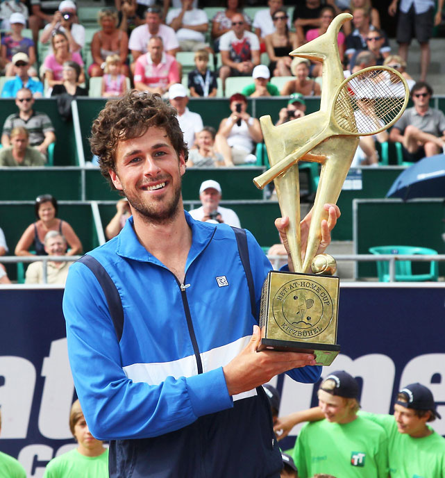 def. Philipp Kohlschreiber 6-7 (2), 6-3, 6-2 ATP 250, Clay, €358,425 Kitzbuhel, Austria