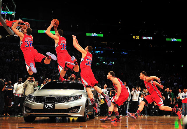 You know the dunk well, but have you seen the composite of every frame? Pretty great, right?