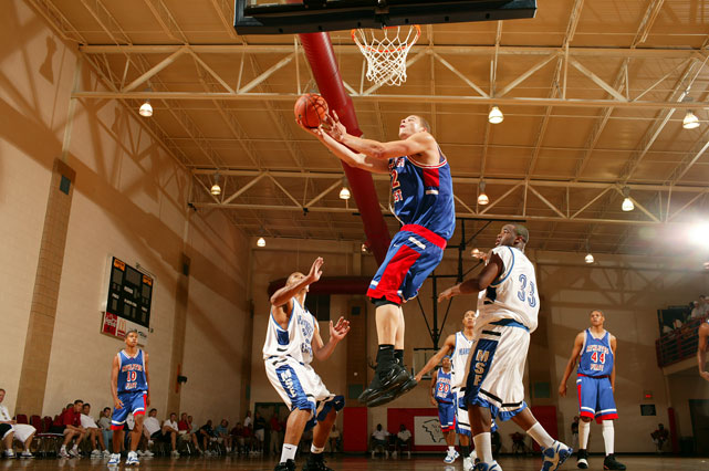 Griffin, doing his thing at Nike Peach Jam.