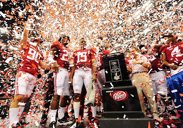 Alabama has now won two of the last three BCS titles.