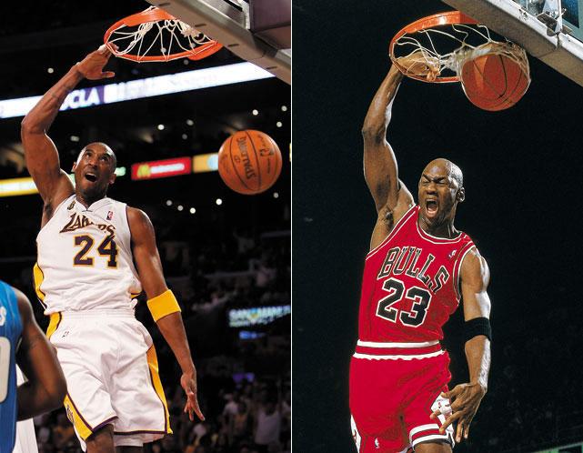 ed80ed24ab01 Kobe Bryant vs. Michael Jordan