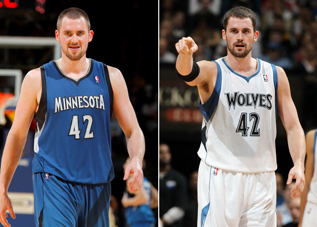Before:  Dec. 14, 2010  After:  Dec. 26, 2011  The Timberwolves big man had a little extra meat on his bones last season, but given his numbers, it wasn't really an issue. But after dropping 25 pounds in the offseason, the rebounding guru has started the season in rare form, boasting even better numbers and dominating even more in the paint.