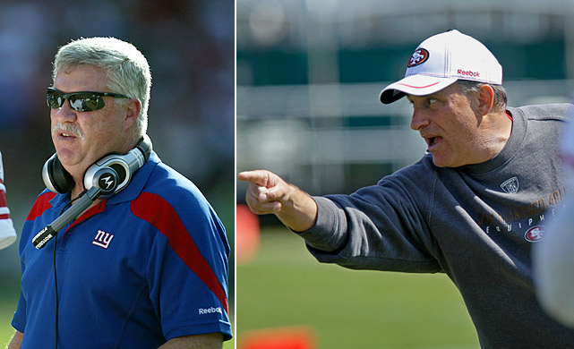 These two won't match up on the field, but how they deploy their respective units against each other will be fascinating. Gilbride has New York's eighth-ranked offense riding high, coming off of a 37-point performance at Green Bay. He'll face a much tougher test this weekend -- Fangio's unit was second in the league in scoring defense, while Green Bay was 19th.