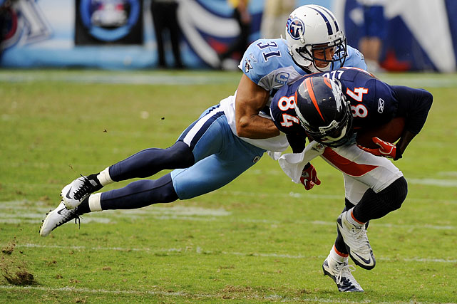 Finnegan didn't have his best year in 2011, but he remains an effective corner and is still particularly adept at getting under opponents' skin. He has gone on the record with his desire to stay with the Titans, but has said that the team has yet to approach him about a contract extension.