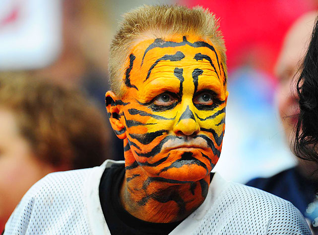 Bengals fans came to Houston hoping for their team's first playoff win in 21 seasons. Instead, they witnessed a fourth straight Cincy playoff loss.