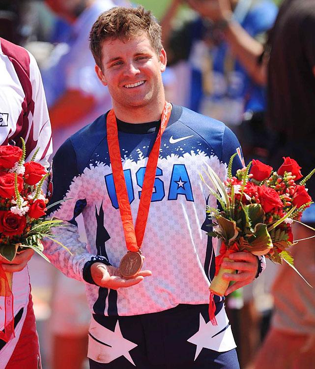 Bronze - Men's BMX.