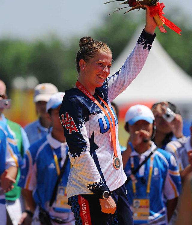 Bronze - Women's BMX.