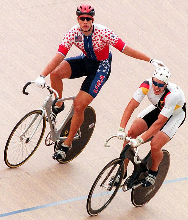 Silver - Men's Sprint.