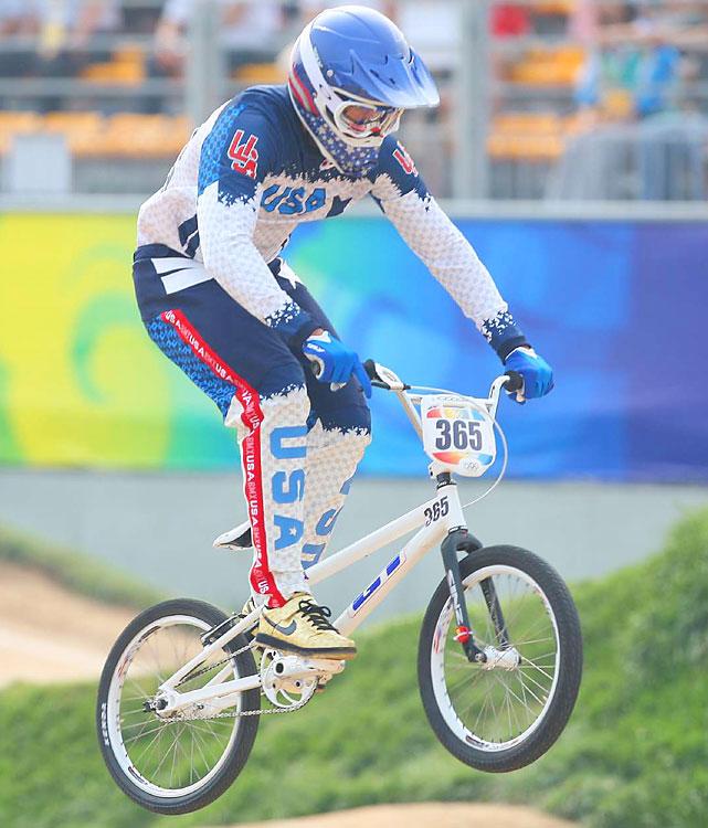Silver - Men's BMX.