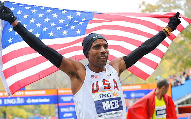 Keflezighi, 36, won an Olympic silver medal in 2004 and the New York City Marathon in 2009. Born in Eritrea, he's the only American to win an Olympic marathon medal since Frank Shorter in 1976. Don't let his age fool you; Keflezighi PR'd at the 2011 New York City Marathon, taking sixth in 2:09:13. It would be a mild surprise if he didn't finish in the top three.
