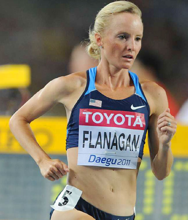 Flanagan won bronze in the 10,000 meters at the 2008 Olympics. She didn't make her marathon debut until 2010, when she placed second in New York in 2:28:40. If Davila is the favorite, Flanagan may be her biggest competition in Houston.