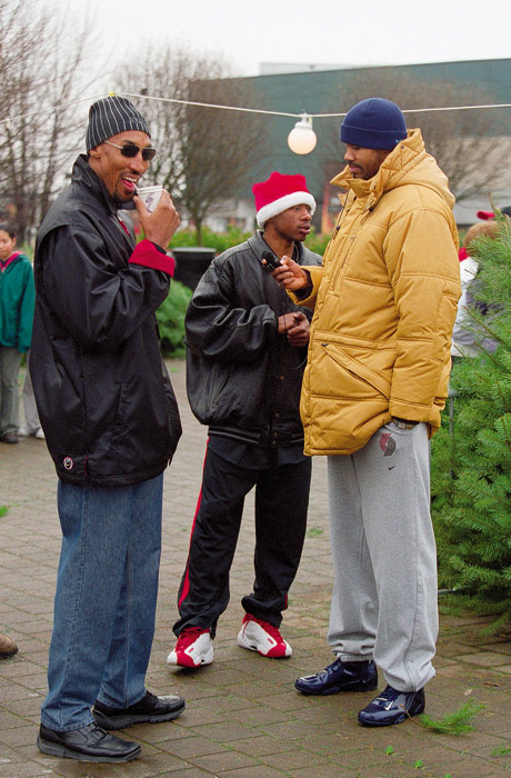 Wallace was traded to the Trail Blazers after his rookie season and spent seven and a half seasons in Portland, racking up two All-Star nods, two conference finals appearances and one Christmas tree shopping adventure with Scottie Pippen and Erick Barkley.