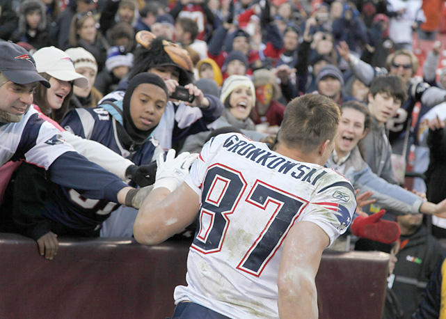 With his production on the field and fun-loving demeanor off it, Gronkowski has quickly become a favorite among Patriots fans.
