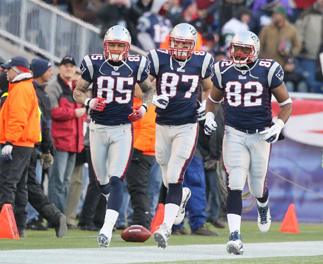 Gronkowski couldn't have landed in a better spot than New England. He was paired with another rookie tight end, Aaron Hernandez, and the two combined for over 1,000 receiving yards during their first season. Much of the credit for their immediate success can be attributed to respected veteran Algee Crumpler, who helped nurture the two rookies and show them the nuances of life in the NFL.