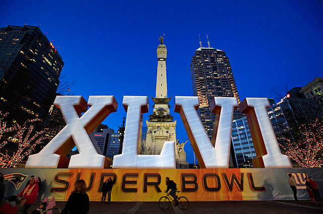 Indianapolis is hosting the Super Bowl for the first time.