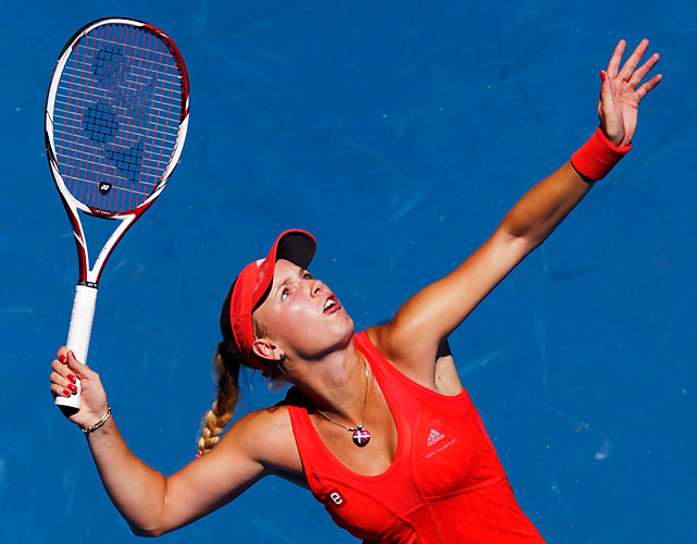 Wozniacki lost her No. 1 ranking, which she held for 67 weeks, via a quarterfinal loss to Kim Clijsters.