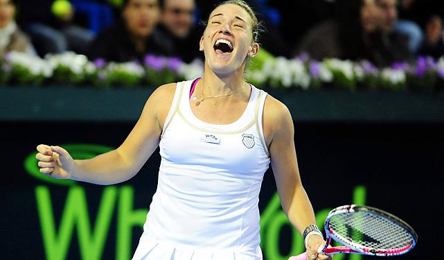 def. Alexandra Cadantu 6-4, 6-4 WTA International, Hard (Outdoor), $220,000 Monterrey, Mexico
