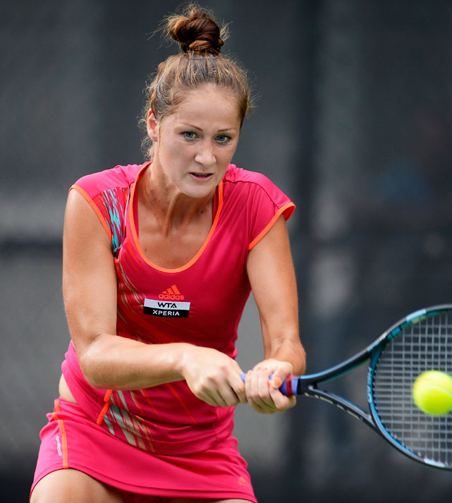 def. Julia Cohen 6-3, 6-1 WTA International, Hard, $220,000 Baku, Azerbaijan