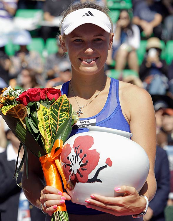 def. Kaia Kanepi 6-1, 6-0 WTA International, Hard, $500,000 Seoul, Korea