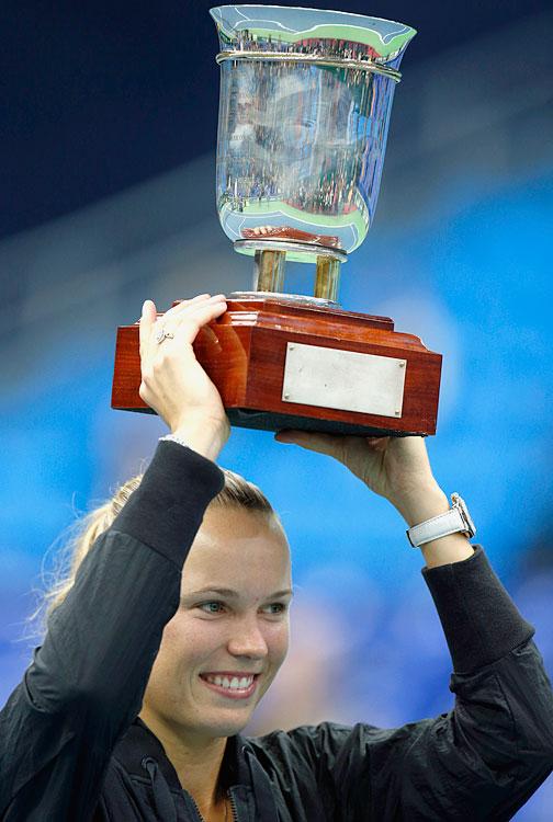 def. Samantha Stosur, 6-2, 4-6, 7-5 WTA Premier, Indoor Hard, $740,000 Moscow