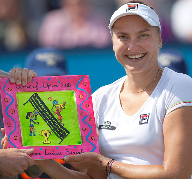 def. Urszula Radwanska 6-4, 6-3 WTA International, Grass, $220,000 Den Bosch, Netherlands