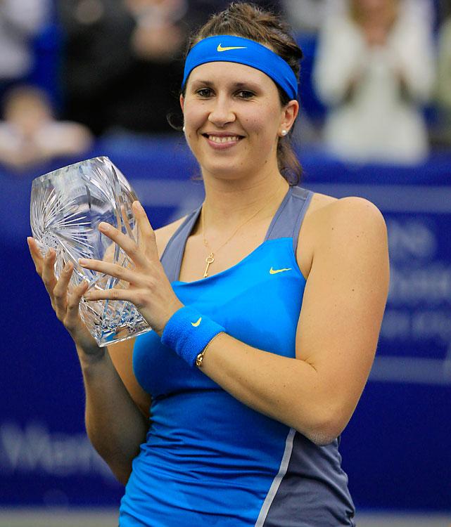 def. Marina Erakovic 6-3, 6-4 WTA International, Hard (Indoor), $220,000 Memphis, Tenn.