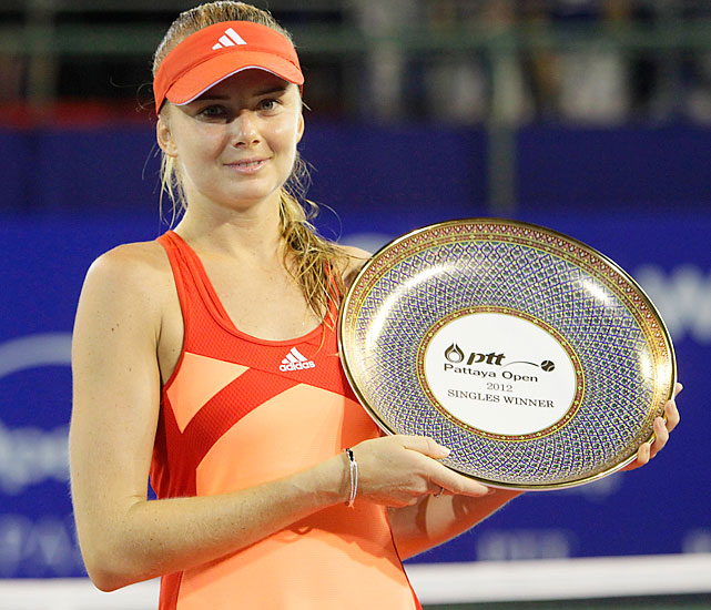 def. Maria Kirilenko 6-7 (4), 6-3, 6-3 WTA International, Hard (Outdoor), $220,000 Pattaya, Thailand