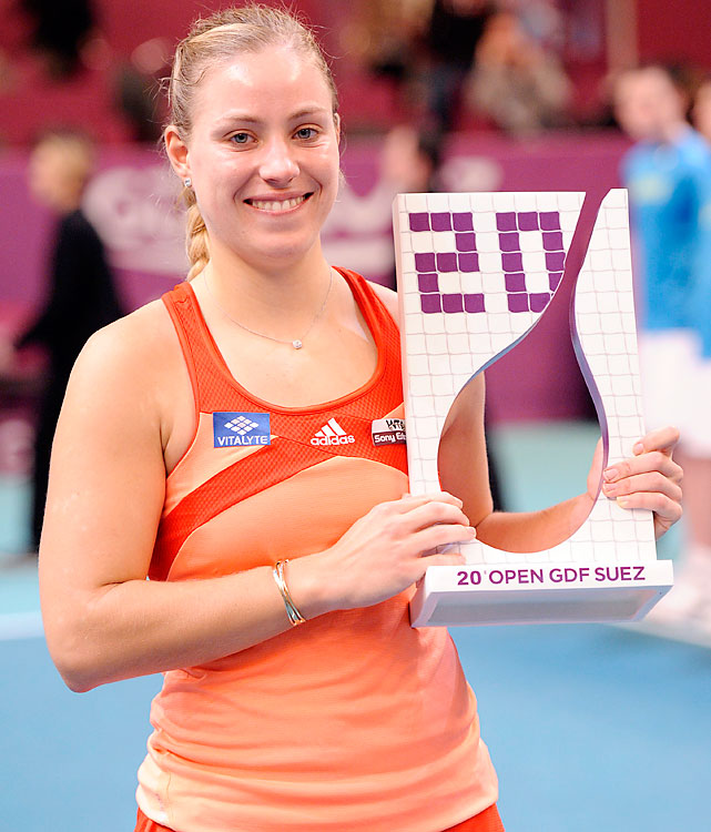 def. Marion Bartoli 7-6 (3), 5-7, 6-3 WTA Premier, Hard (Indoor), $637,000 Paris