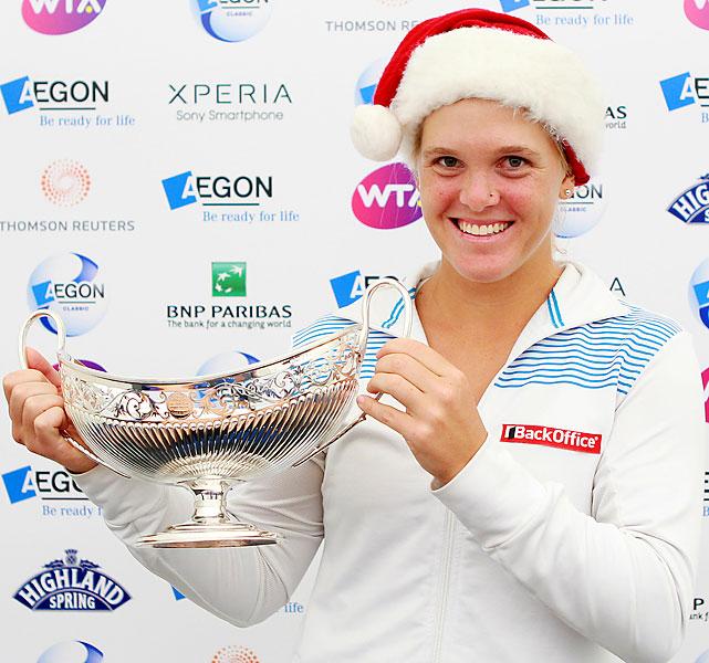 def. Jelena Jankovic 6-4, 6-2 WTA International, Grass, $220,000 Birmingham, Great Britain