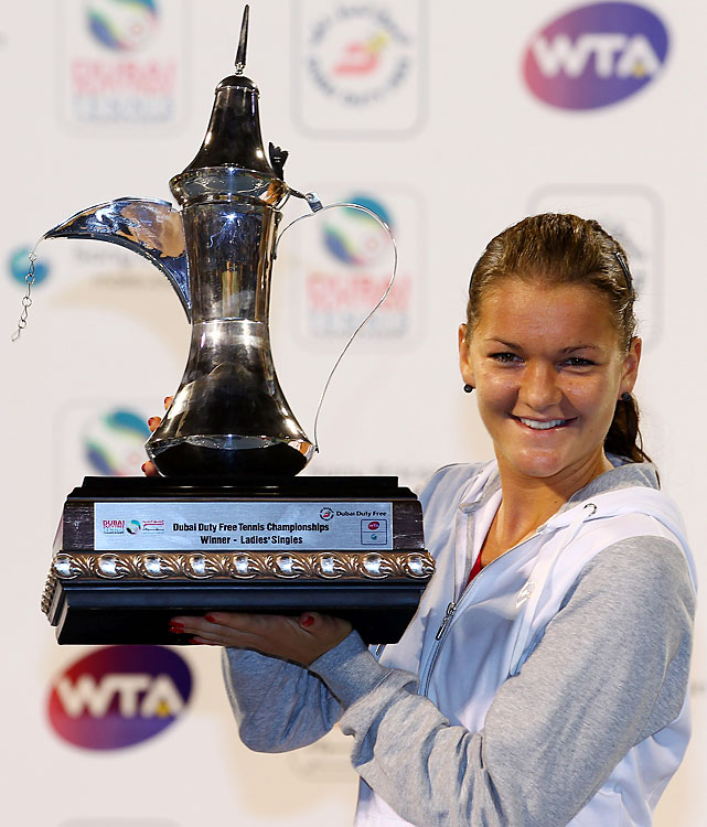 def. Julia Goerges 7-5, 6-4 WTA Premier, Hard (Outdoor), $2,000,000 Dubai, United Arab Emirates