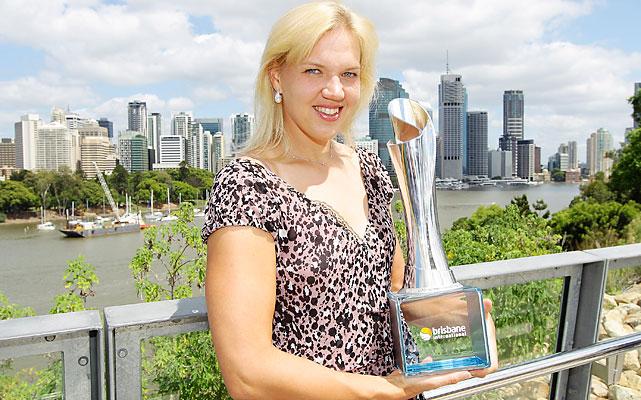 def. Daniela Hantuchova 6-2, 6-1 WTA Premier, Hard (Outdoor), $655,000 Brisbane, Australia
