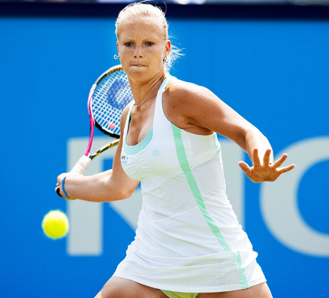 def. Laura Pous-Tio 7-5, 6-0 WTA International, Clay (Outdoor), $220,000 Fez, Morocco