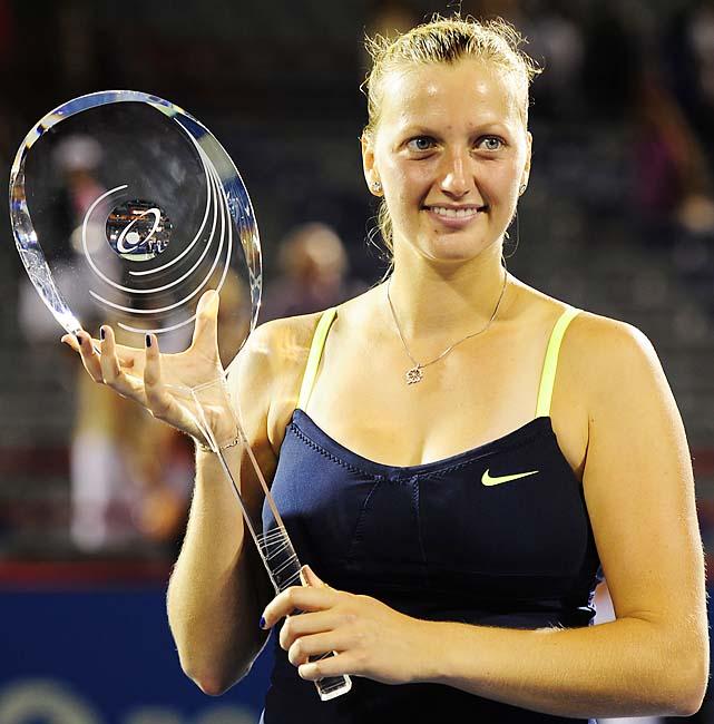 def. Li Na 7-5, 2-6, 6-3 WTA Premier, Hard (Outdoors), $2,168,400 Montreal