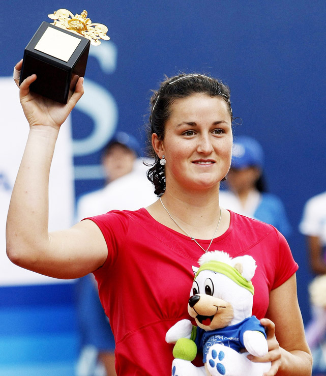 def. Alexandra Panova 6-2, 7-5 WTA International, Clay (Outdoor), $220,000 Bogota, Colombia
