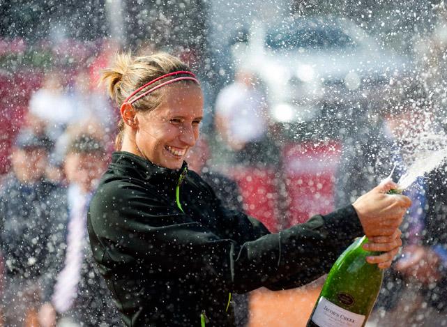 def. Mathilde Johansson 0-6, 6-4, 7-5 WTA International, Clay, $220,000 Bastad, Sweden