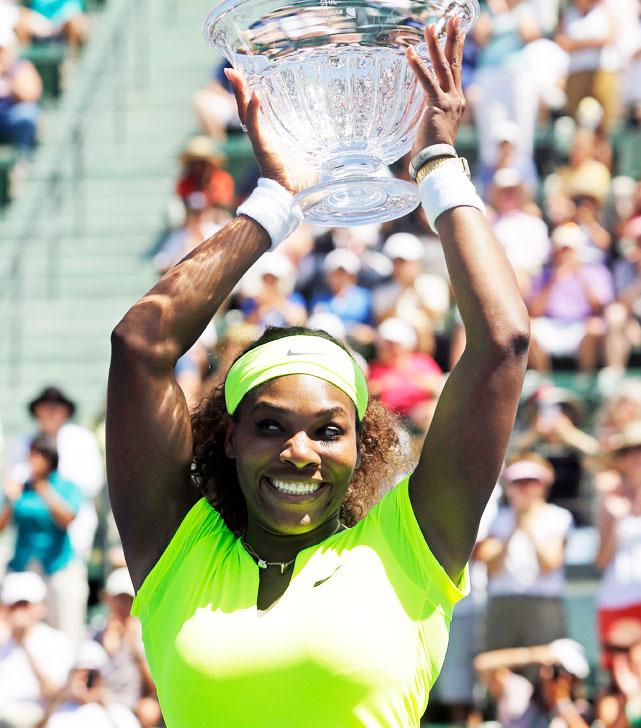 def. Coco Vandeweghe 7-5, 6-3 WTA Premier, Hard, $740,000 Stanford, Calif.